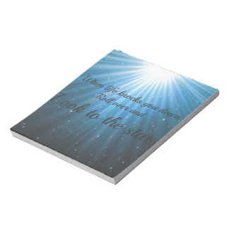 Look to the Stars Notepad