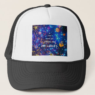 Look up and you see the wonder surrounds us trucker hat