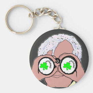 Lookin at Lucky Key Ring
