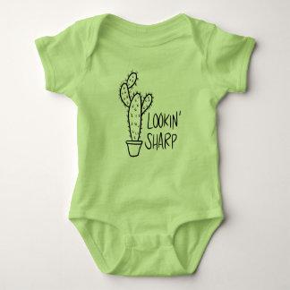 Lookin' Sharp Cactus Baby Bodysuit