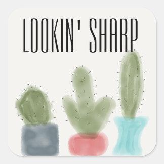 LOOKIN' SHARP Sticker