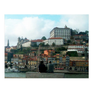 Looking at Porto Postcard