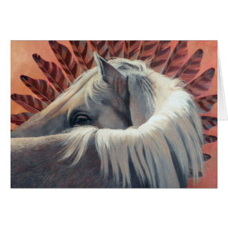 Looking Back-Art by Kathy Morrow Card