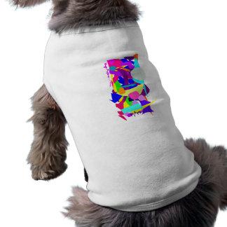 Looking Back So Many Times Sleeveless Dog Shirt