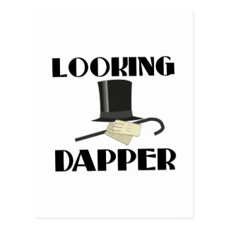 Looking Dapper Postcard