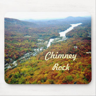 Looking Down from Chimney Rock Mouse Pad