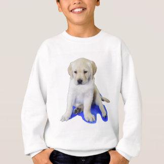 Looking Down Labrador Puppy Sweatshirt