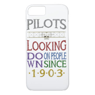 Looking Down on People iPhone 7 Case