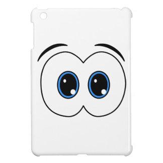 Looking eyes iPad mini case
