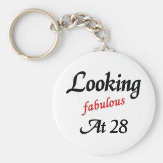 Looking fabulous at 28 key ring