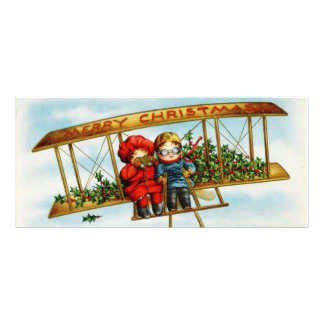 Looking for Santa vintage illustration Custom Rack Card