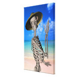 Looking forward to the Summer Stretched Canvas Print