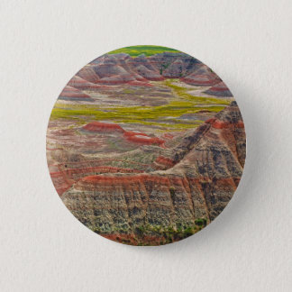 """Looking into the badlands"" collection 6 Cm Round Badge"