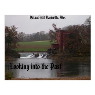 Looking into the Past, Dillard Mill Davisv... Postcard