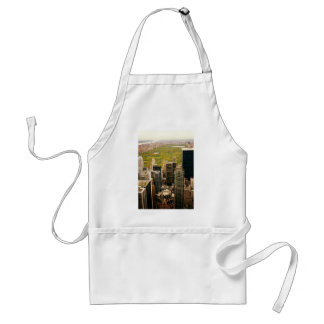 Looking Out At Central Park From Above, NYC Adult Apron