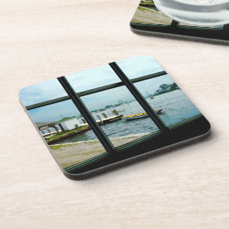 Looking Out at the Sea Drink Coaster