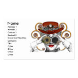 looking steampunked steampunk dude pack of standard business cards