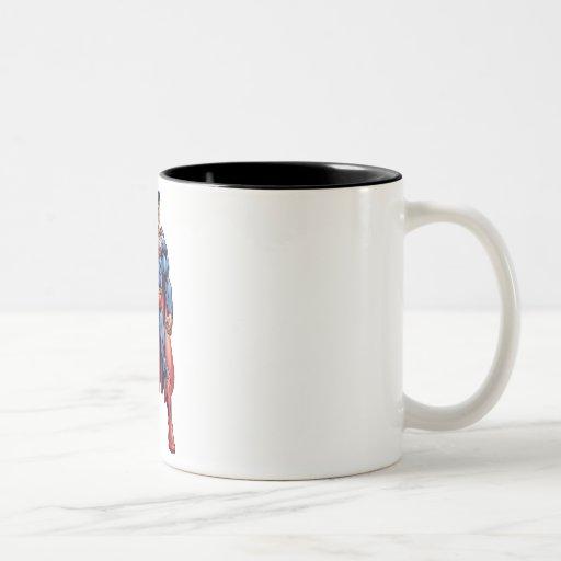 Looking Straight On Mugs
