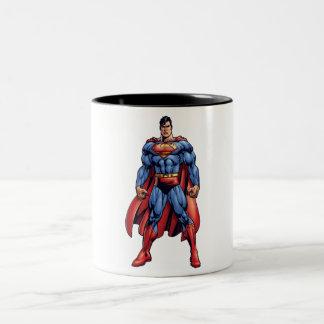 Looking Straight On Two-Tone Coffee Mug