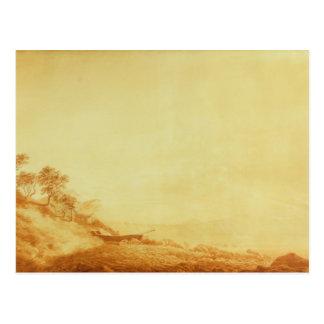 Looking towards Arkona at sunrise, 1801 Postcard