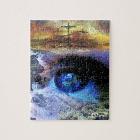 Looking Unto Jesus 11x14 Photo Puzzle