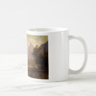Looking Up the Yosemite Valley - Albert Bierstadt Coffee Mug