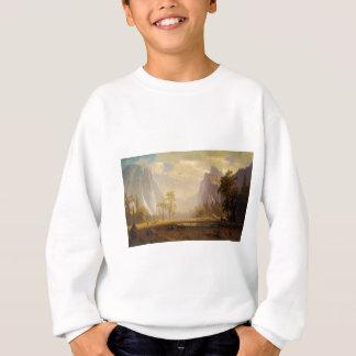 Looking Up the Yosemite Valley - Albert Bierstadt Sweatshirt