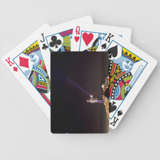 Looking will be home bicycle playing cards