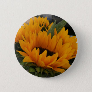 Looks Like a Sunflower 6 Cm Round Badge