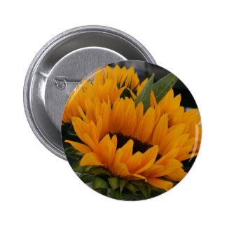 Looks Like a Sunflower 6 Cm Round Badge