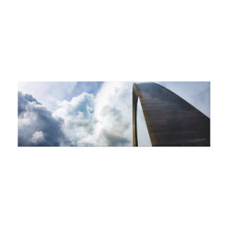Lookup Gateway Arch St. Louis, MO | 36 x 12 Canvas