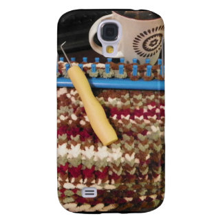 Loom knit and coffee samsung galaxy s4 covers