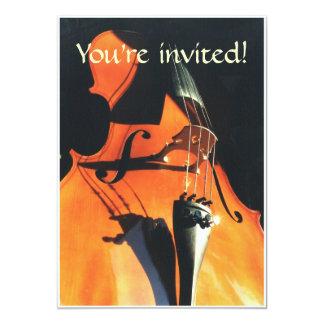 Looming Cello invitation