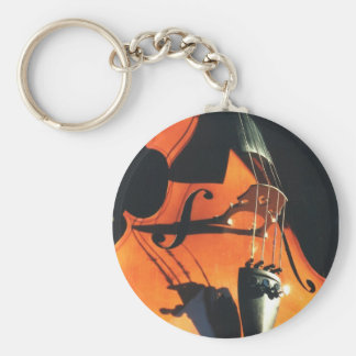 Looming Cello keychain