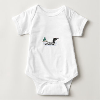 Loon Baby Bodysuit