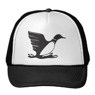Loon / Diver Aquatic Bird Cap