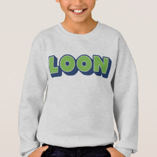 Loon, Doric Dialect, Boy, Scottish Sweatshirt