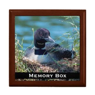 Loon Nesting Tile Box