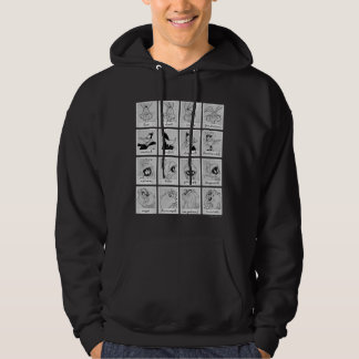 LOONEY TUNES™ Character Emotion Chart Hoodie