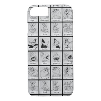LOONEY TUNES™ Character Emotion Chart iPhone 8/7 Case