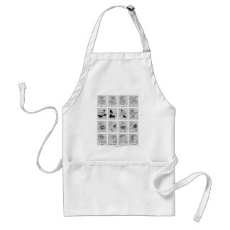 LOONEY TUNES™ Character Emotion Chart Standard Apron