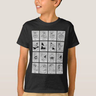 LOONEY TUNES™ Character Emotion Chart T-Shirt