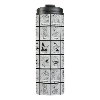 LOONEY TUNES™ Character Emotion Chart Thermal Tumbler