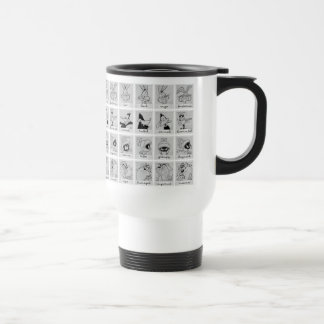 LOONEY TUNES™ Character Emotion Chart Travel Mug