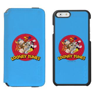LOONEY TUNES™ Character Logo Incipio Watson™ iPhone 6 Wallet Case
