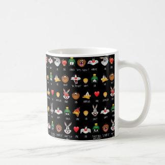 LOONEY TUNES™ Emoji Chart Coffee Mug