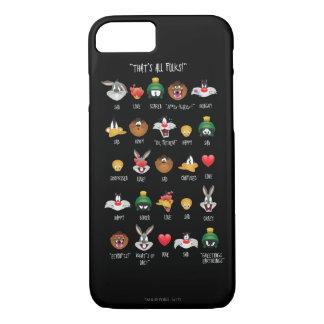 LOONEY TUNES™ Emoji Chart iPhone 8/7 Case