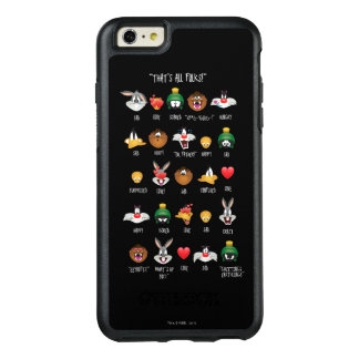 LOONEY TUNES™ Emoji Chart OtterBox iPhone 6/6s Plus Case