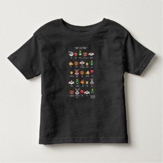 LOONEY TUNES™ Emoji Chart Toddler T-Shirt