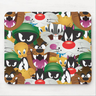 LOONEY TUNES™ Emoji Pattern Mouse Pad